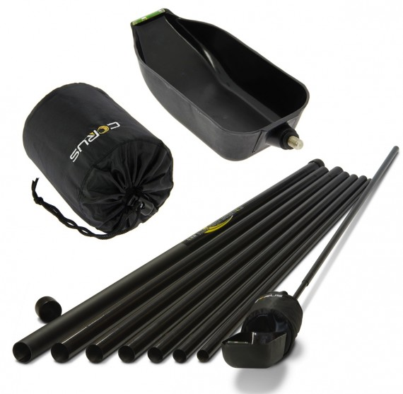 Corus 12m Long Reach Baiting Pole Set