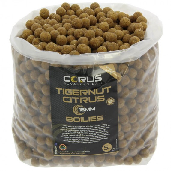 15mm Tigernut Citrus Shelf Life Boilies
