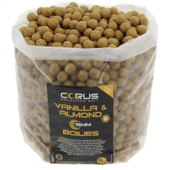 15mm Vanilla & Almond Shelf Life Boilies