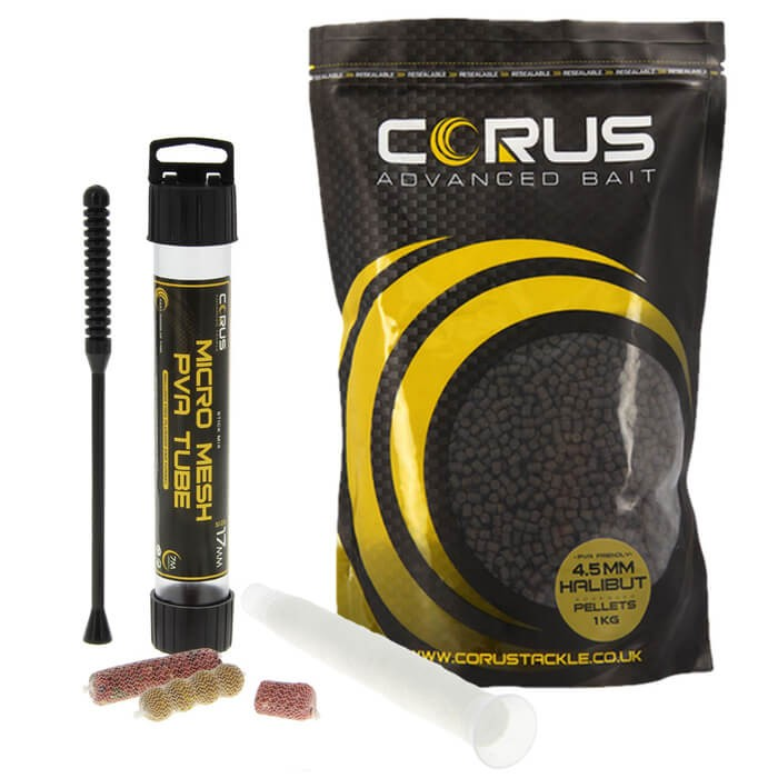 Corus 1kg Halibut Pellets and PVA