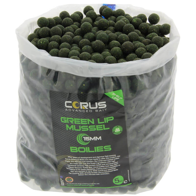 20mm Green Lip Mussel Shelf Life Boilies