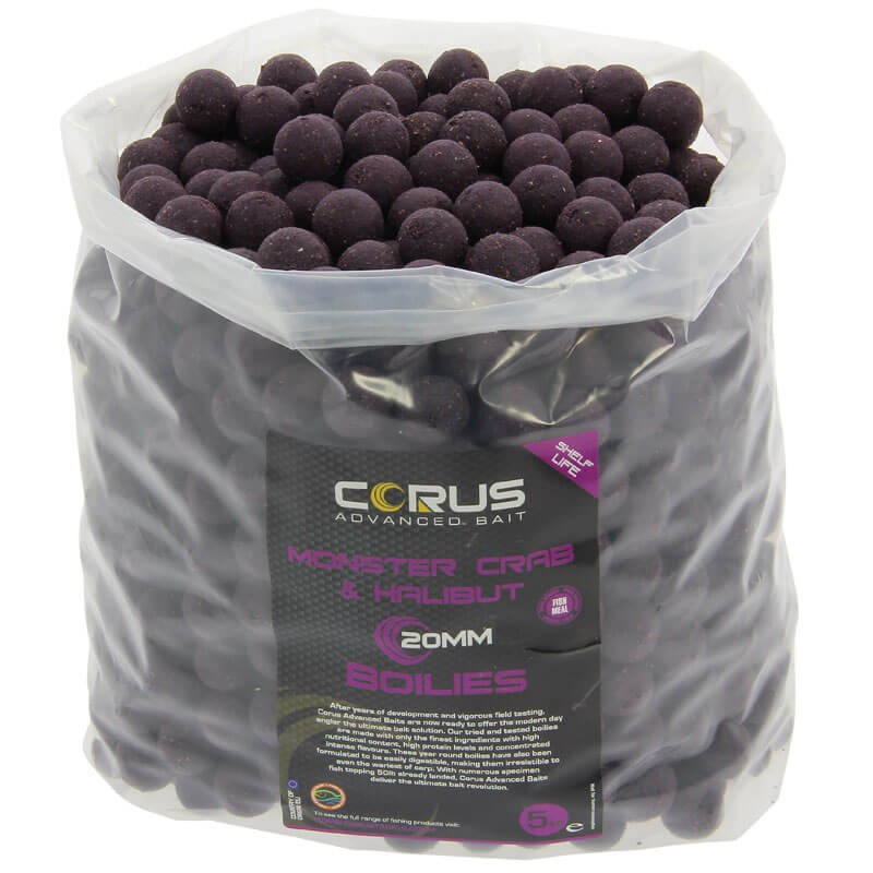 20mm Monster Crab & Halibut Shelf Life Boilies