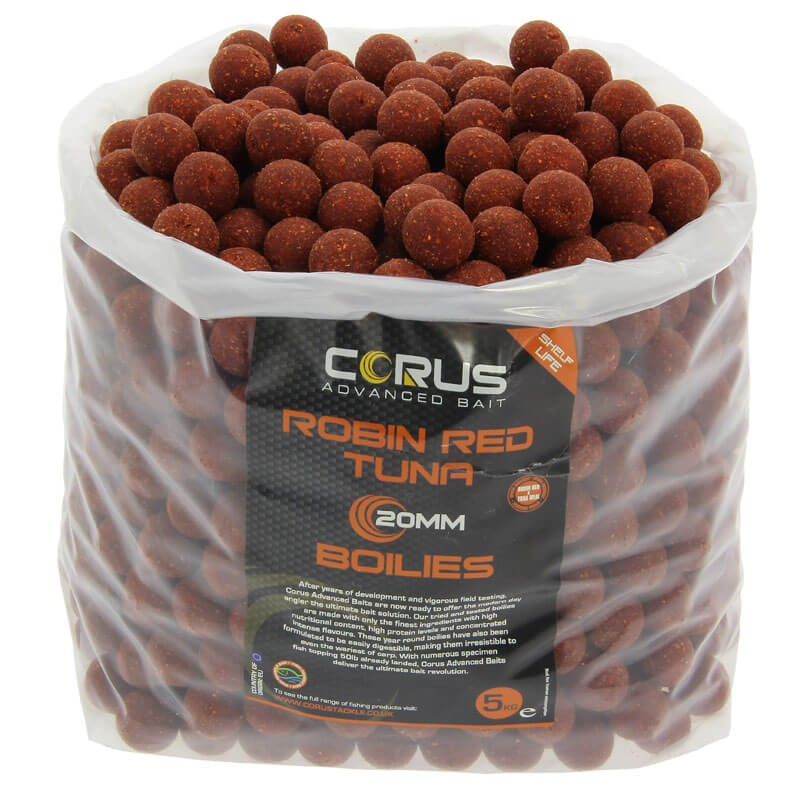 20mm Robin Red & Tuna Shelf Life Boilies