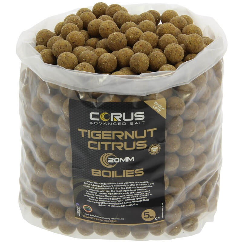 20mm Tigernut Citrus Shelf Life Boilies